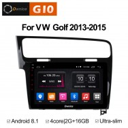 Штатная магнитола Ownice G10 S1907E для Volkswagen Golf 7 (Android 8.1)