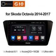 Штатная магнитола Ownice G10 S1917E для Skoda Superb B8 (Android 8.1)