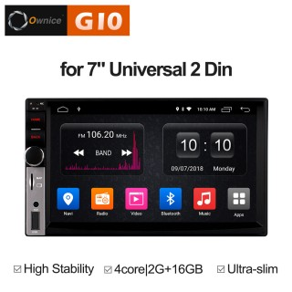 Штатная магнитола Ownice G10 S7006E 2 Din Универсальная (Android 8.1)