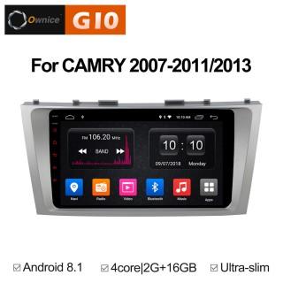 Штатная магнитола Ownice G10 S9606E для Toyota Camry v40 (Android 8.1)