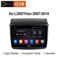 Штатная магнитола Ownice G10 S9635E для Mitsubishi Pajero Sport (Android 8.1)