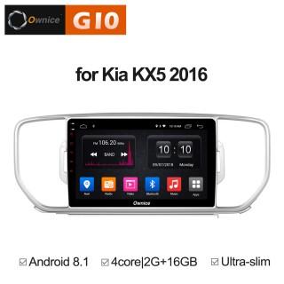 Штатная магнитола Ownice G10 S9733E для KIA Sportage 4 (Android 8.1)