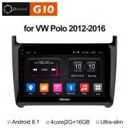 Штатная магнитола Ownice G10 S9903E для Volkswagen Polo (Android 8.1)