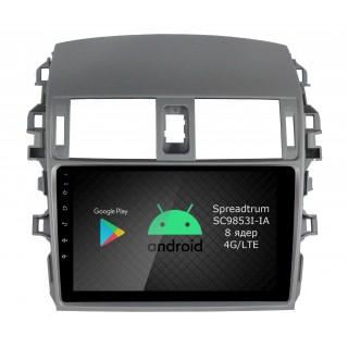 Штатная магнитола Roximo RI-1104 для Toyota Corolla e150 (Android 9.0)