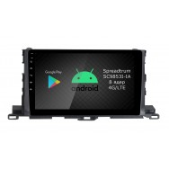 Штатная магнитола Roximo RI-1112 для Toyota Highlander 3 (Android 9.0)