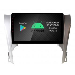 Штатная магнитола Roximo RI-1118 для Toyota Camry v50 (Android 9.0)