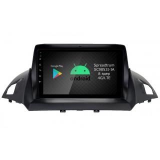 Штатная магнитола Roximo RI-1716 для Ford Kuga (Android 9.0)