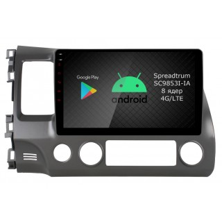 Штатная магнитола Roximo RI-1911 для Honda Civic 8 (Android 9.0)