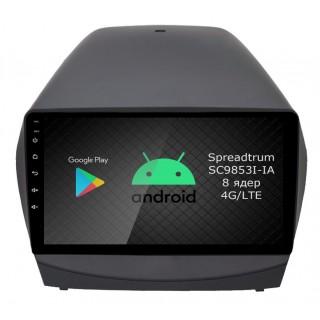 Штатная магнитола Roximo RI-2002 для Hyundai ix35, 2010-2015 (Android 9.0)