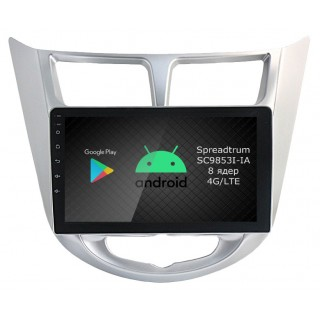 Штатная магнитола Roximo RI-2003 для Hyundai Solaris, 2010-2017 (Android 9.0)