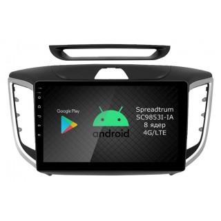 Штатная магнитола Roximo RI-2010 для Hyundai Creta (Android 9.0)