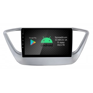 Штатная магнитола Roximo RI-2011 для Hyundai Solaris, 2017- (Android 9.0)