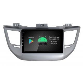 Штатная магнитола Roximo RI-2013 для Hyundai Tucson, 2016- (Android 9.0)