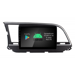 Штатная магнитола Roximo RI-2016 для Hyundai Elantra 6, 2016-2019 (Android 9.0)
