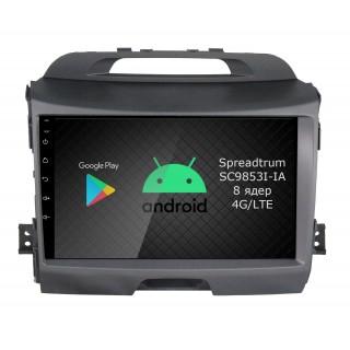 Штатная магнитола Roximo RI-2313 для KIA Sportage 3, 2010-2015 (Android 9.0)