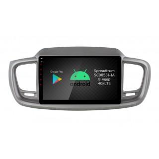 Штатная магнитола Roximo RI-2317 для KIA Sorento 3 Prime (Android 9.0)