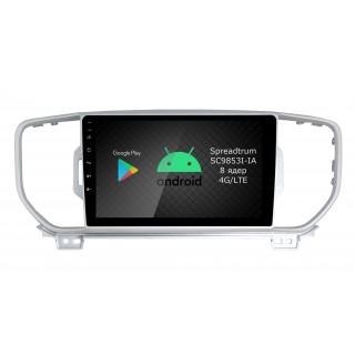 Штатная магнитола Roximo RI-2319 для KIA Sportage 4, 2016-2018 (Android 9.0)