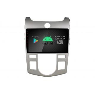 Штатная магнитола Roximo RI-2321A для KIA Cerato 2 manual, 2006-2011 (Android 9.0)