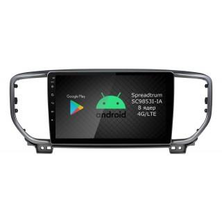 Штатная магнитола Roximo RI-2329 для KIA Sportage 4, 2019- (Android 9.0)