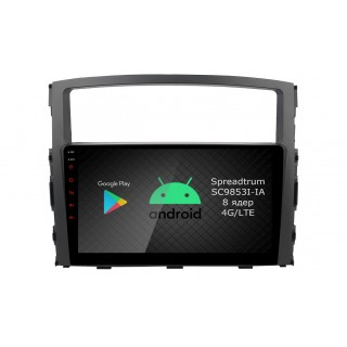 Штатная магнитола Roximo RI-2603 для Mitsubishi Pajero 4 (Android 9.0)