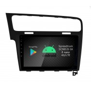 Штатная магнитола Roximo RI-3715B для Volkswagen Golf 7 black (Android 9.0)
