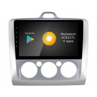 Штатная магнитола Roximo S10 RS-1702M для Ford Focus 2, S-max (Android 9.0)