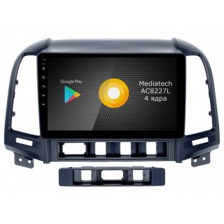 Штатная магнитола Roximo S10 RS-2008 для Hyundai SantaFe 2 (Android 10)
