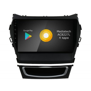 Штатная магнитола Roximo S10 RS-2019 для Hyundai SantaFe 3 / ix45 (Android 9.0)