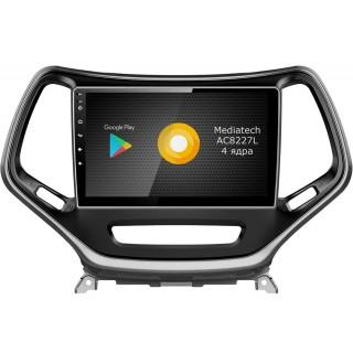 Штатная магнитола Roximo S10 RS-2202 для Jeep Cherokee (Android 9.0)
