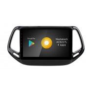 Штатная магнитола Roximo S10 RS-2204 для Jeep Compas 2017 (Android 9.0)