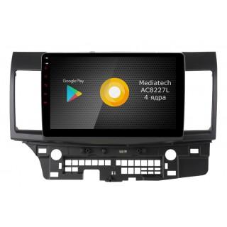 Штатная магнитола Roximo S10 RS-2612 для Mitsubishi Lancer X (Android 9.0)