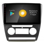 Штатная магнитола Roximo S10 RS-3202B для Skoda Octavia A5 (Android 10)