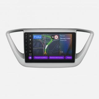 Мультимедийная система Яндекс.Авто YA-HD01-1B для Hyundai Solaris 2017