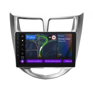 Мультимедийная система Яндекс.Авто YA-HD08-1B для Hyundai Solaris 2010