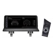 Штатная магнитола Roximo RW-2708QD для BMW 1 (2006-2012) E81/E82/E87/E88 для комплектации без штатного дисплея, iDrive в комплекте