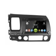 Штатная магнитола CarDroid RD-1901D для Honda Civic 8 4d