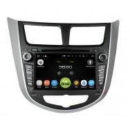 Штатная магнитола CarDroid RD-2003D для Hyundai Solaris
