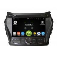 Штатная магнитола CarDroid RD-2009D для Hyundai SantaFe 3, 2012 (Android 9.0) DSP