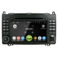 Штатная магнитола CarDroid RD-2503D для Mercedes Benz W169 W245 Vito Viano (Android 9.0)
