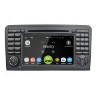 Штатная магнитола CarDroid RD-2504D для Mercedes Benz ML W164 GL X164 (Android 9.0) DSP
