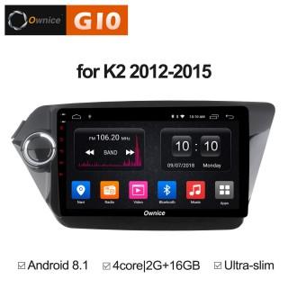 Штатная магнитола Ownice G10 S9731E для KIA RIO (Android 8.1)