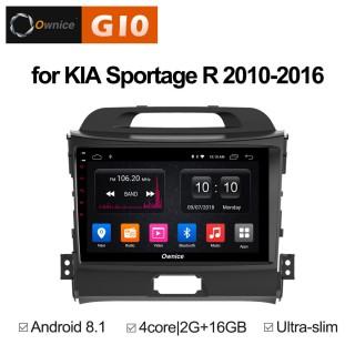 Штатная магнитола Ownice G10 S9735E для KIA Sportage 3 (Android 8.1)